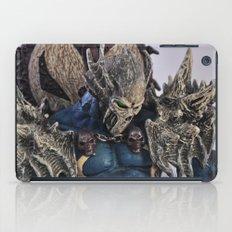 blue Spawn iPad Case