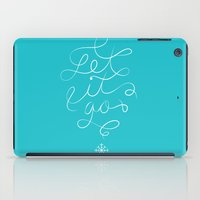 Let it Go iPad Case