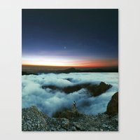 Canvas Print featuring Horizons by  Maʁϟ
