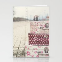 Vintage Travel Stationery Cards