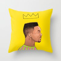 Fresh Prince Throw Pillow