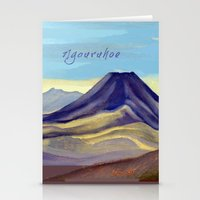 Mount Ngauruhoe Stationery Cards