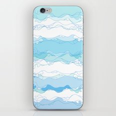 Wave line iPhone & iPod Skin