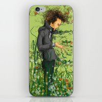 The green thumb curse III iPhone & iPod Skin