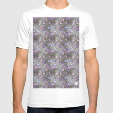 Field of Kittens Mens Fitted Tee SMALL White