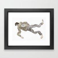 Deflated Framed Art Print