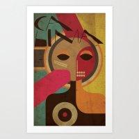 Calima 521 Art Print