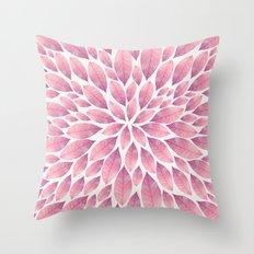 Petal Burst #10 Throw Pillow