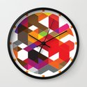 Life like a Geometry Wall Clock