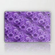 Pansies In Purple.... Laptop & iPad Skin