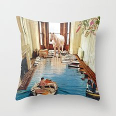 Is There a Prize at the End of All This? Throw Pillow
