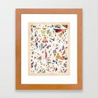 Chaotic Dreams Framed Art Print