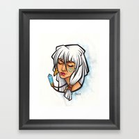 Princess Kida Framed Art Print