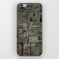 make love iPhone & iPod Skin