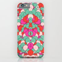 Chaotic Circles Pattern iPhone 6 Slim Case