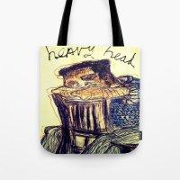 Heavy Head Tote Bag