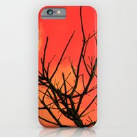iPhone & iPod Case featuring Fire Branch by Amything Goes
