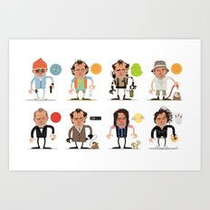 Murrays Complete Set Art Print
