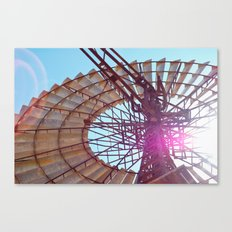 Windmill Flare Canvas Print