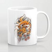 Angry Kyuubi Mug