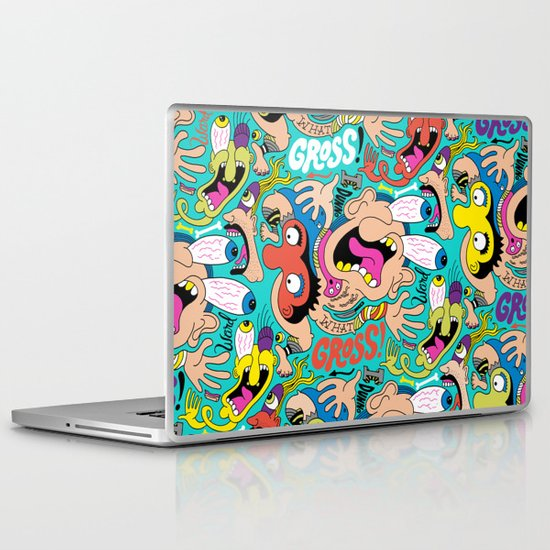 Weird Pattern Laptop & iPad Skin