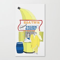 There's Always Money in the Banana Stand. Canvas Print
