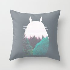 Troll of the Dreamland Forest Throw Pillow