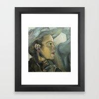 Ladies in Hats 2 Framed Art Print