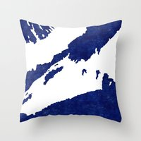 Climbing In Kebnekaise (… Throw Pillow