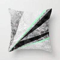 GEO BURST II Throw Pillow