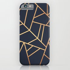Copper and Midnight Navy iPhone 6 Slim Case