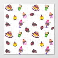 sugar power Canvas Print