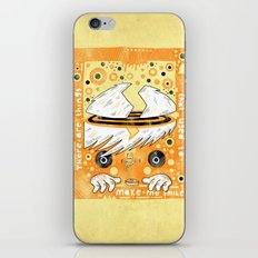 Fat Berts window iPhone & iPod Skin