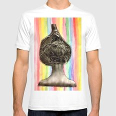 Tree Head Mens Fitted Tee White SMALL