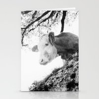 cow Stationery Cards featuring COW by Julia Aufschnaiter