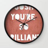 Gosh (Brilliant) Wall Clock