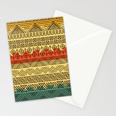 Aztec pattern Stationery Cards