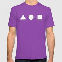 Hula-Hoop Champion (V2) Mens Fitted Tee Ultraviolet SMALL