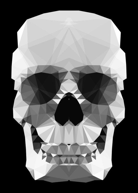 Polygon Heroes - Crystal Skull Art Print