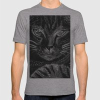 Cool cat Mens Fitted Tee Athletic Grey SMALL