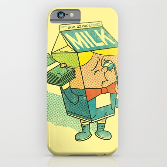 Spoiled Milk iPhone & iPod Case