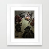 Deadly Viruses. Framed Art Print