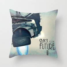 Back to the future II Throw Pillow