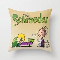 The Coin Throw Pillow