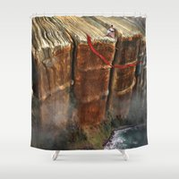 Cliffhanger Shower Curtain