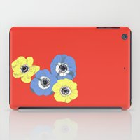 Anemones 2 iPad Case