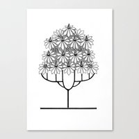 Tree Collection -1 Canvas Print