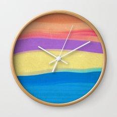 Skies The Limit IV Wall Clock