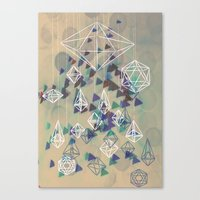 crystals Canvas Print