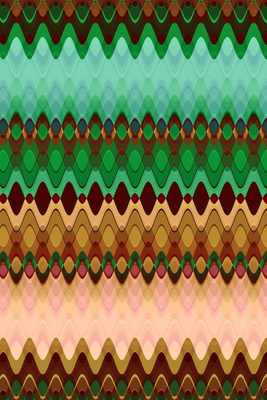 Pattern indian summer Art Print